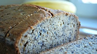 Thinking of tossing away those over-ripe bananas? Think again!! Use this super easy recipe to turn them into delicious and moist Banana BreadIngredients:3-4 Ripe to over ripe Bananas  (Ripe bananas are easier to mash and add lots of flavor to the bread..The more ripe the bananas the sweeter the bread)1/2 Cup Butter or margarine3/4 Cup Brown Sugar (Or 1 cup white sugar)2 Eggs (Medium size)1/4 Tsp Vanilla extract (Optional)1.5 Cups All-purpose flour1 Tsp Baking Soda1/4 Tsp SaltEnjoy! with a hot cup of coffee! Thanks for watching!~AMusic: iMovie jinglesFTC: This video is not sponsored