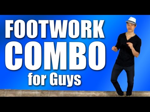 Footwork Combo for Guys | How to Dance at a Club