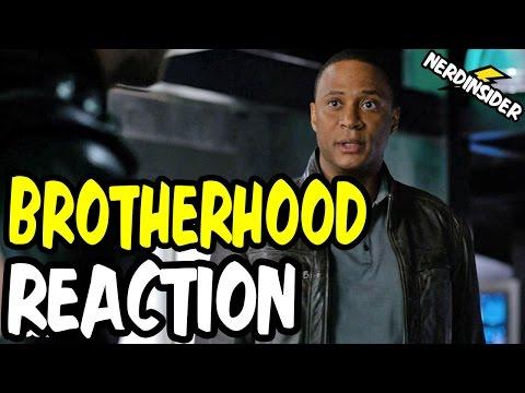 Nerds REACT to ARROW Season 4 Episode 7 BROTHERHOOD