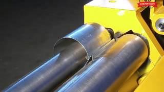 Механические трехвалковые вальцы MLR MetalMaster