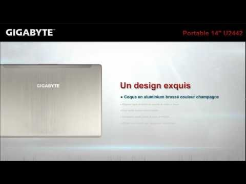 GIGABYTE Extrême Ultrabook Ordinateur portable 14