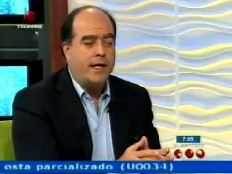 Julio Borges en el Noticiero Televen 09-04-2013
