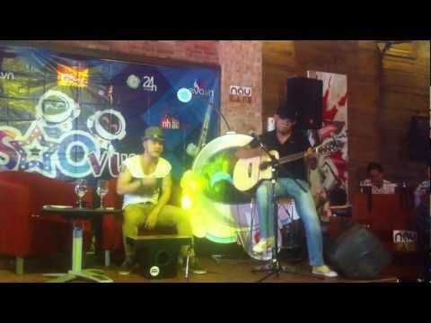 Vầng Trăng Cô Đơn - Ưng Hoàng Phúc live phong cách acoustic