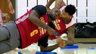 LeBron James Highlights at Cavaliers 2017 Training Camp by NBA