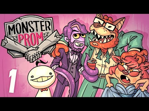 Monster Prom - Part 1 w/ Dodger, Cryaotic, and Octopimp (видео)