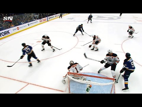 Video: Schwartz picks Larsson's pocket, Schenn fires puck past Brossoit