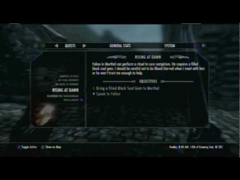 Skyrim - Curing Vampirism any Stage [Easy] Guide