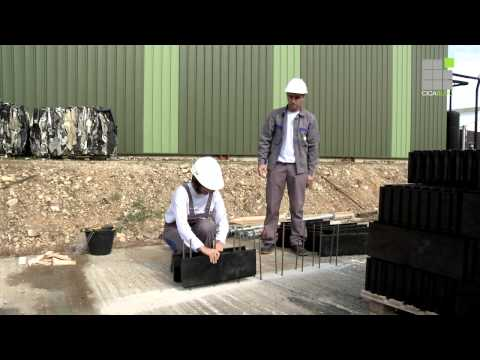 comment construire un mur en bloc a bancher
