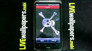 Pirate flag live wallpaper YouTube video