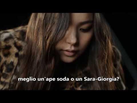 canzone coreana italianizzata divertentissima