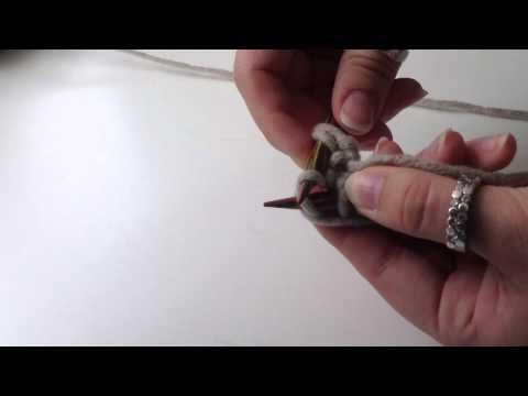 Stricken lernen: rechte Maschen stricken – wie man rechte Maschen stricken kann