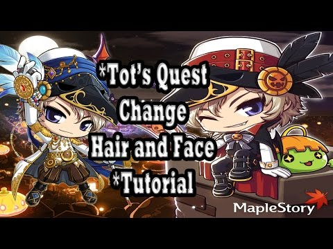MAPLESTORY | Free Hair Style Coupon VIP | Tot's Quest