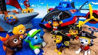 Video Go Merpups, Pirate Pups~! Let's Defeat The Pirates. Paw Patrol On-A-Roll - ToyMart TV MP3, 3GP, MP4, WEBM, AVI, FLV Oktober 2018