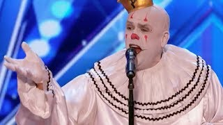 "Video Sad Shy Clown With His Mind Blowing Version of Sia's ""Chandelier"" 