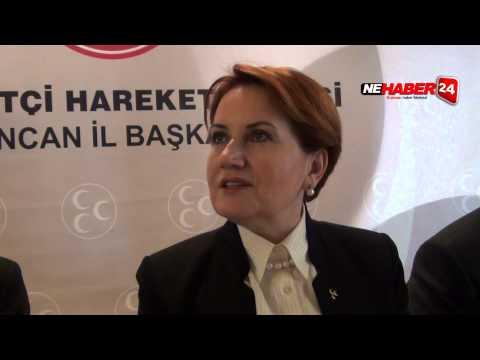 Meral Akşener: Umarım Sağduyu ve Hukukun Üstünlüğü Hakim Olur