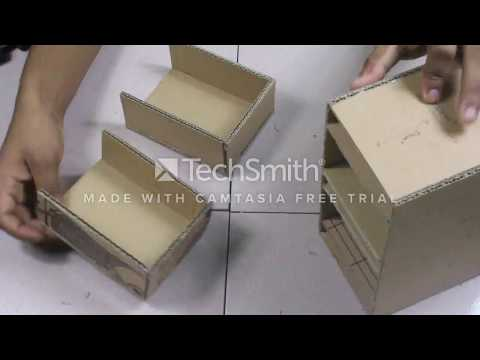Video How To Make A Simple Cardboard Drawer Box At Home download in MP3, 3GP, MP4, WEBM, AVI, FLV January 2017