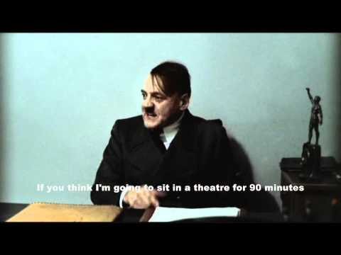 Hitler Is Informed Iron Sky Is Now Playing