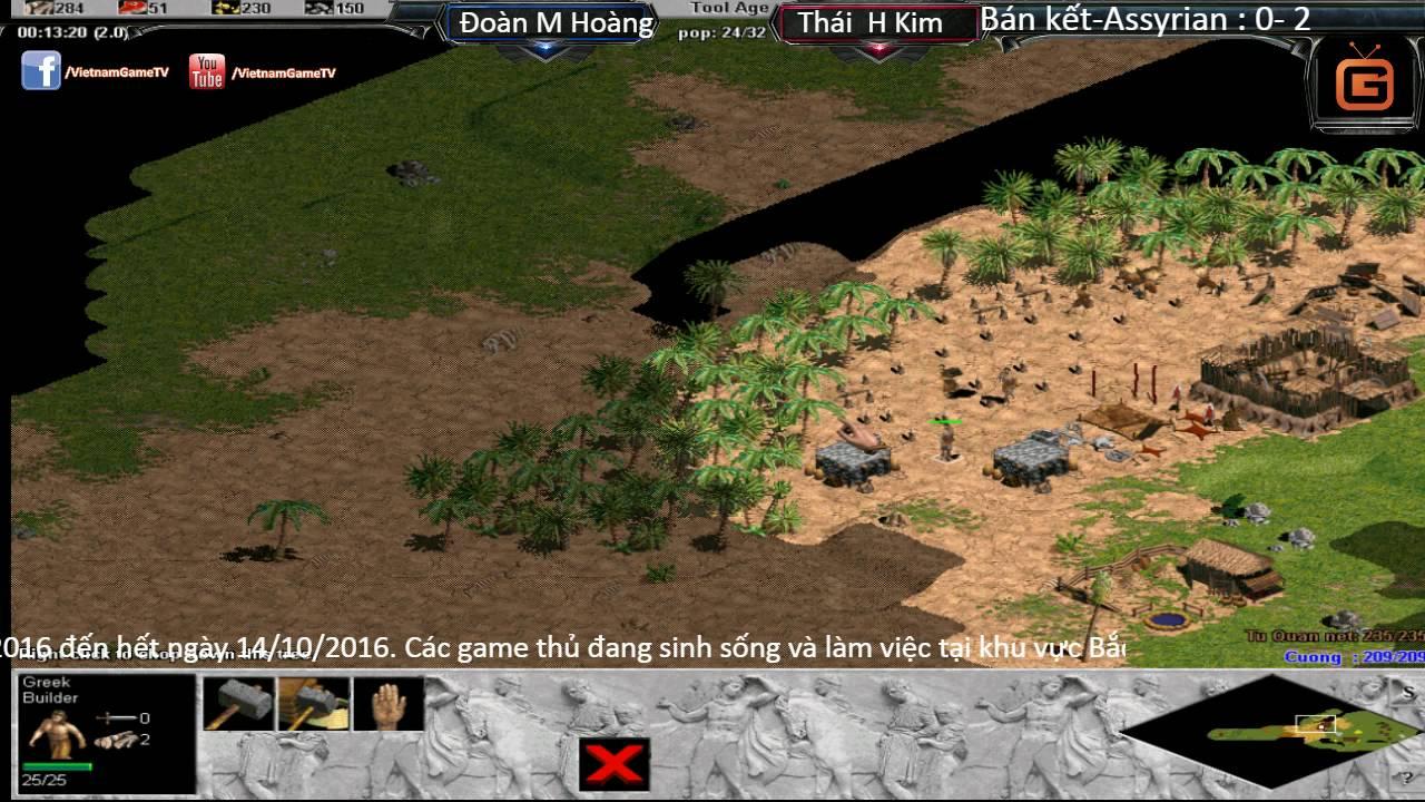AOE Liên Tỉnh Yên Bái 2016 | Chung Kết | Trần Cao Cường vs Thái Hoàng Kim | 02-10-2016 | BLV : G_Mýp