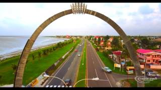 This video highlights the commemorative arch, which was donated by the Ansa McAl for Guyana's 51st Independence ...