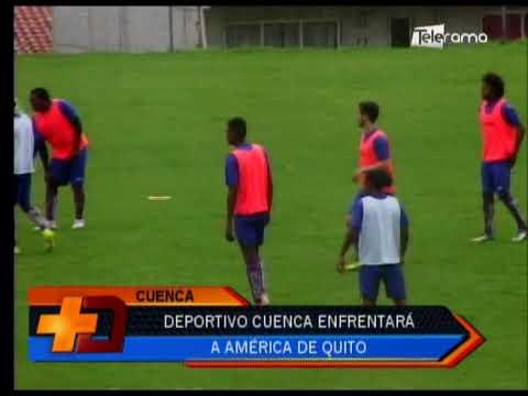 Deportivo Cuenca enfrentará a América de Quito