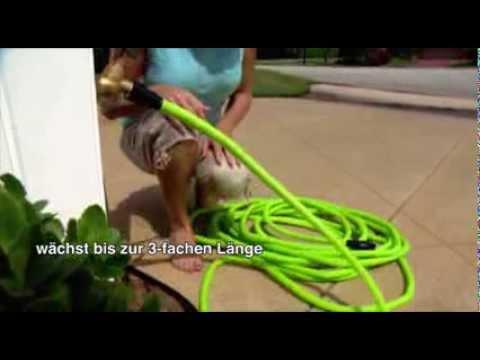 Flexi Wonder  - Der Gartenschlauch, der wächst