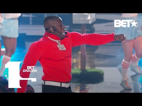 """DaBaby Is A Young CEO For Sure With """"Suge"""" In First Ever BET Awards Performance 