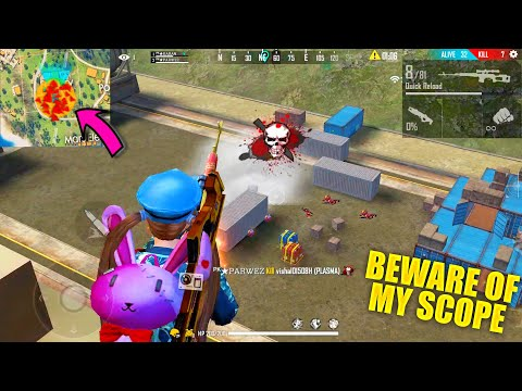 Beware Of My Scope In Factory Roof   Garena Free Fire King Of Factory Fist Fight - P.K. GAMERS