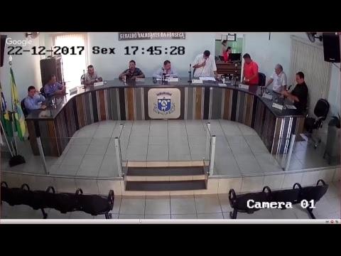 4ª Reunião Extraordinária - 22 de Dezembro de 2017