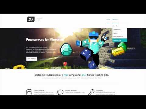 Zaptrohost: Free 24/7 Minecraft Server Hosting Website