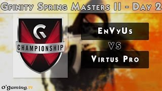 Team EnVyUs vs Virtus Pro - Gfinity Spring Masters II - Day 2 - Group Stage [FR]