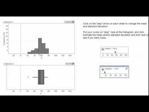Estimating Standard Deviation video