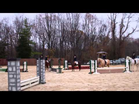 Maring Eberlein's Win in Beginner Walk Trot Canter - 11/16/13