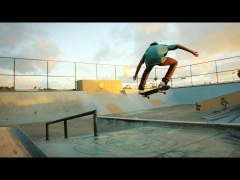 The Aesthetics of Paradise | Hawaii Skateboarding 2012
