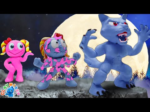 Werewolf Transformation - Stop Motion Animation Cartoons