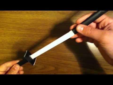 Как сделать оригами фото мечи