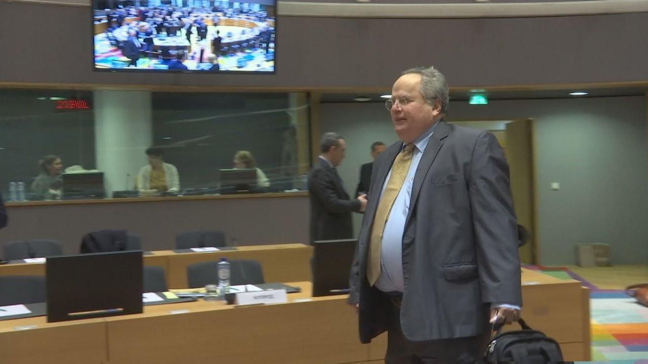 Στις Βρυξέλλες ο N.Κοτζιάς για το Συμβούλιο Εξωτερικών Υποθέσεων της ΕΕ