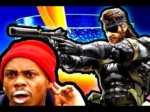 Metal Gear Delight (ft. Solid Snake) Sunny D Commercial Stop Motion Parody ...