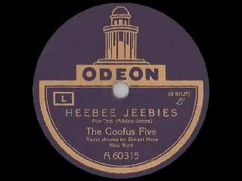 The Goofus Five: HEEBIE JEEBIES (1926) online metal music video by THE GOOFUS FIVE