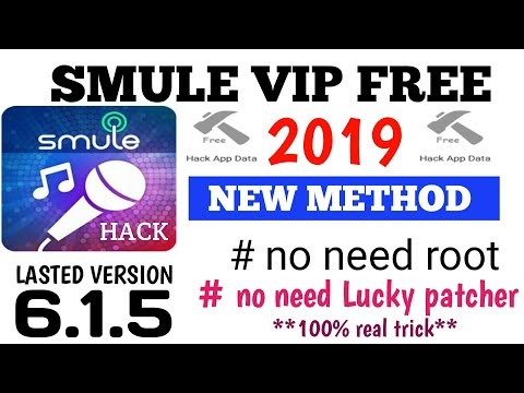 Smule Sing Hack 2019 | Smule Vip Apk Free 2019 | How  To Hack Smule Sing Lasted 6.1.5 Version