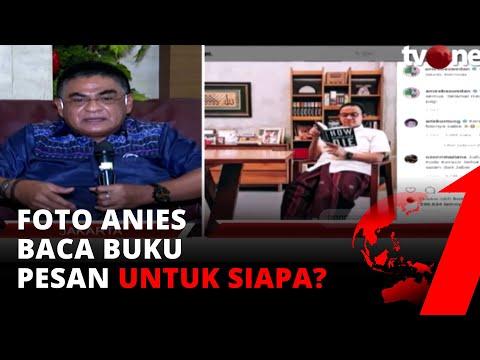 Foto Anies untuk Siapa? Politikus PDIP: Ini Bisa Menjadi Boomerang Pak Gubernur   tvOne