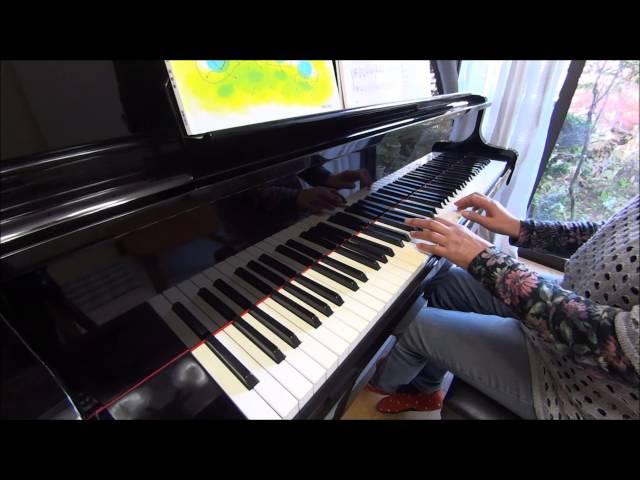 (大人初心者3カ月目)「「きらきら星」ピアノ悠々塾~入門編より を弾いてみた