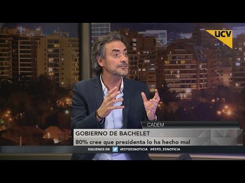 video Según encuesta Cadem el 80% de los chilenos cree que la presidenta lo ha hecho mal