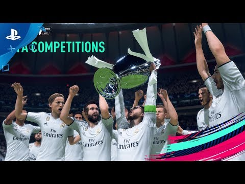 FIFA 19 - Champions League, Europa League And Super Cup | PS4