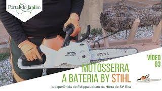 6. Motosserra MSA 200 C-BQ a bateria by STIHL
