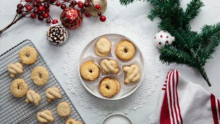 Danish Butter Cookies •Tasty by Tasty