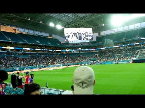 Entreno Del Real Madrid 28 De Julio 2018 Hard Rock Stadium Miami