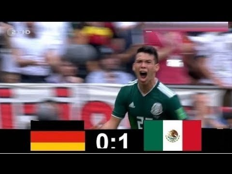 Germany vs Mexico 0 - 1   WORLD CUP  17/06/2018 HD