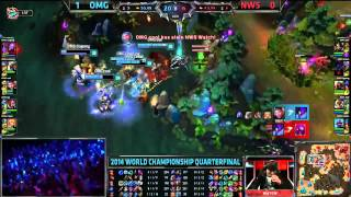 NWS Watch Amazing Kha'Zix Baron Steal - NWS vs OMG - LoL S4 WorldsLeague of Legends LCS HighlightsLike us on Facebook : http://on.fb.me/1k7FA5oFollow us on Twitter : http://bit.ly/1pFYvk4Google+ : http://bit.ly/1rGSdDCIf you want to see more League of legends highlights, Please hit the subscribe button for more entertainment. :)Partner with Freedom! ➜ http://www.freedom.tm/via/LoLLCSHighlights07 - Be free.Get more views!➜ http://www.freedom.tm/grow - Grow with us.Become a network!➜ http://www.freedom.tm/network
