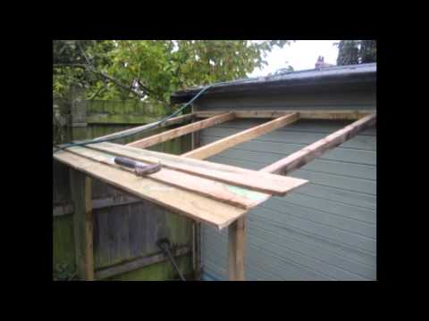 Youtube building a lean to shed garden sheds installed glasgow youtube building a lean to shedoutdoor lumber storage rack planshow to make wood kitchen cabinet doors test out greentooth Gallery
