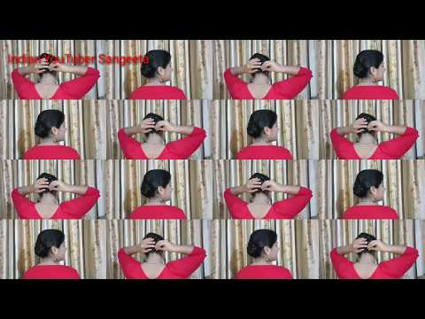 Short hair styles - Best Self Bun Hairstyle for Party/Wedding  Hair Style Girl  Hairstyles 2018  Easy Hairstyles